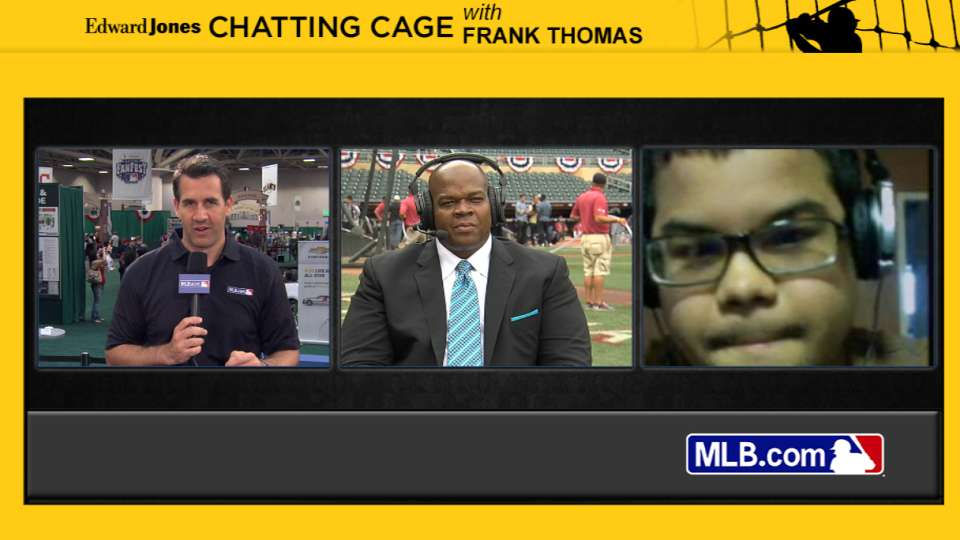 Chatting Cage: Frank Thomas