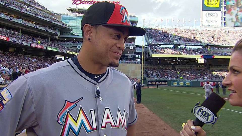 Stanton on All-Star experience