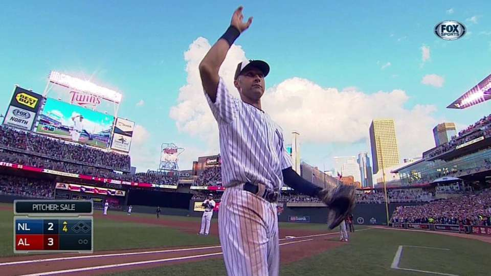 Jeter exits All-Star Game