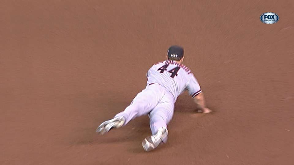 Goldy's diving stop
