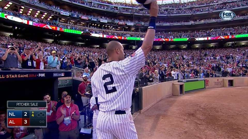 Jeter's two-hit All-Star Game