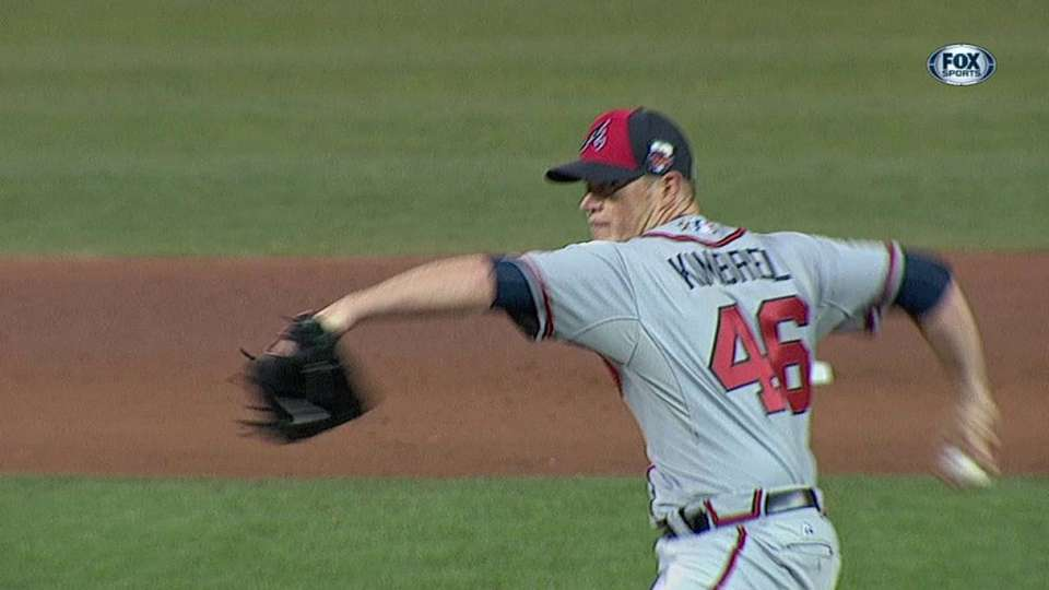 Kimbrel strikes out the side