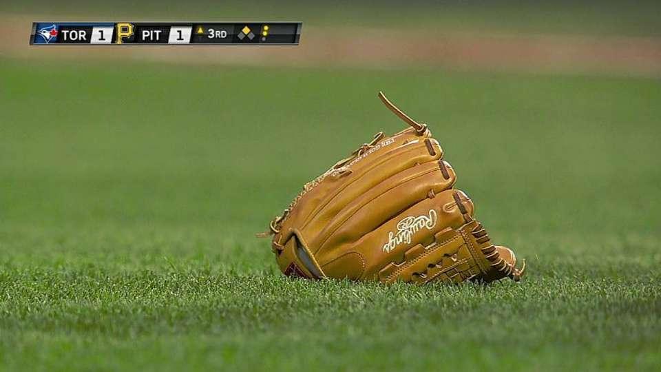 Cole loses glove