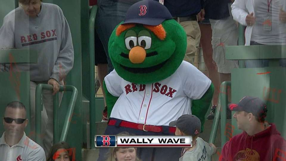 Wally leads the Wally Wave