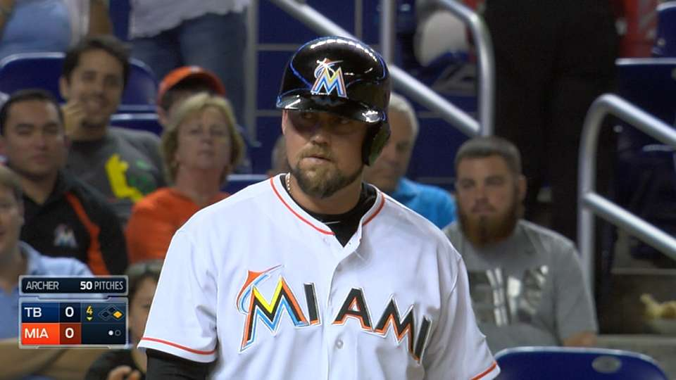 Stanton's bat hits McGehee