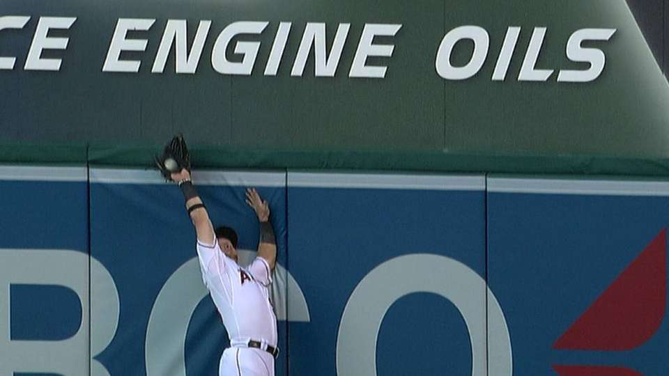 Calhoun's great catch