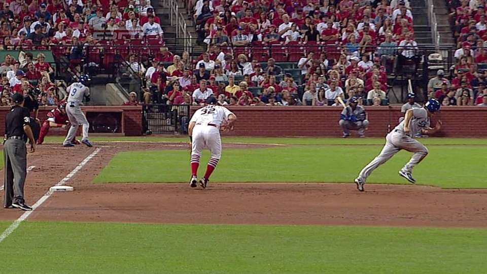 Kershaw's first career steal