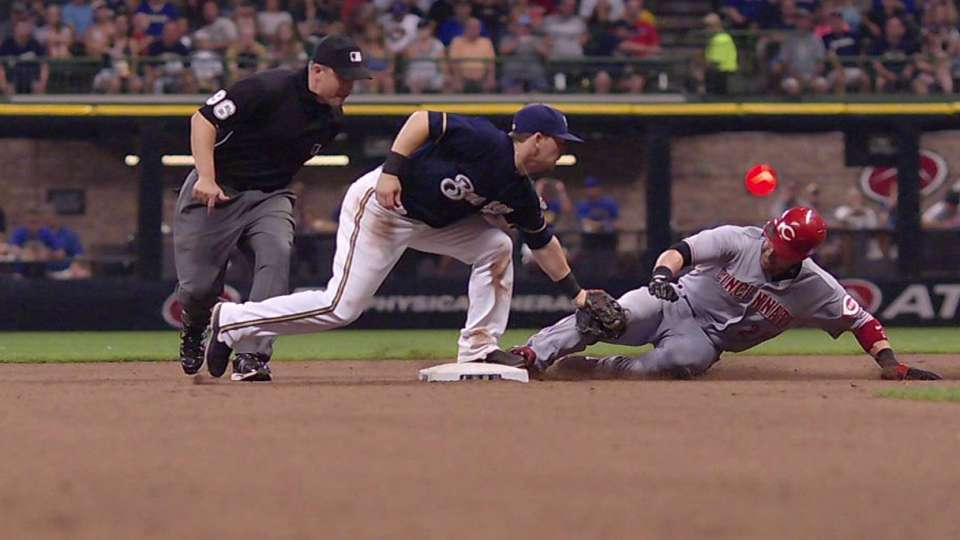Brewers challenge play
