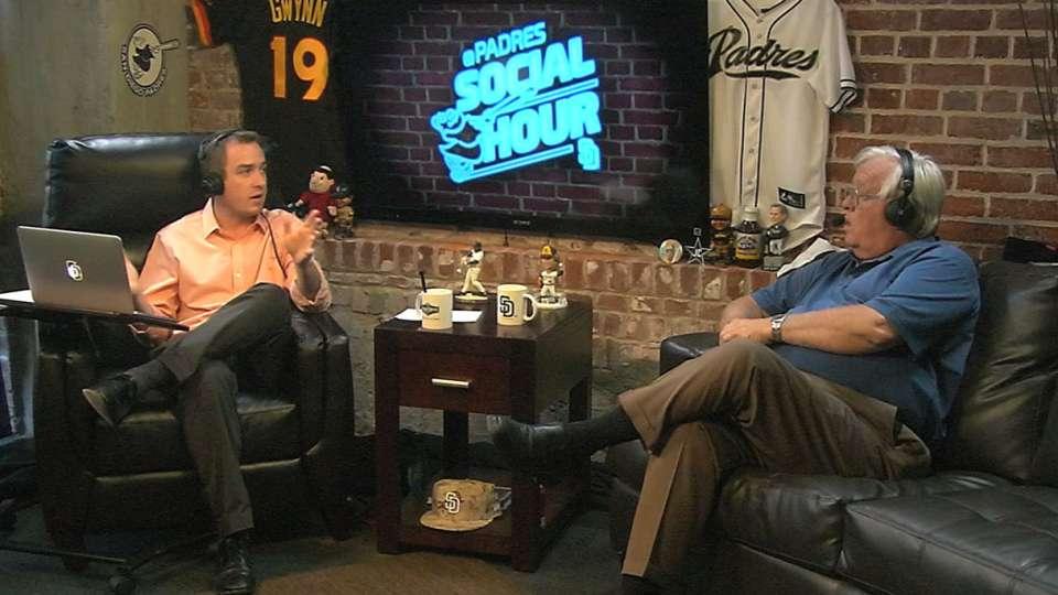 Malinowski on Padres Social Hour