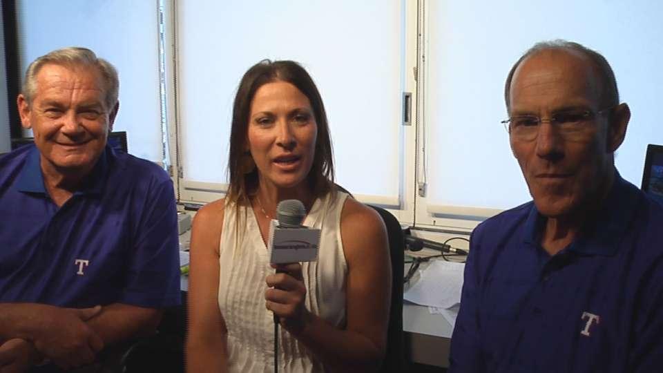 Rangers broadcasters on Nadel