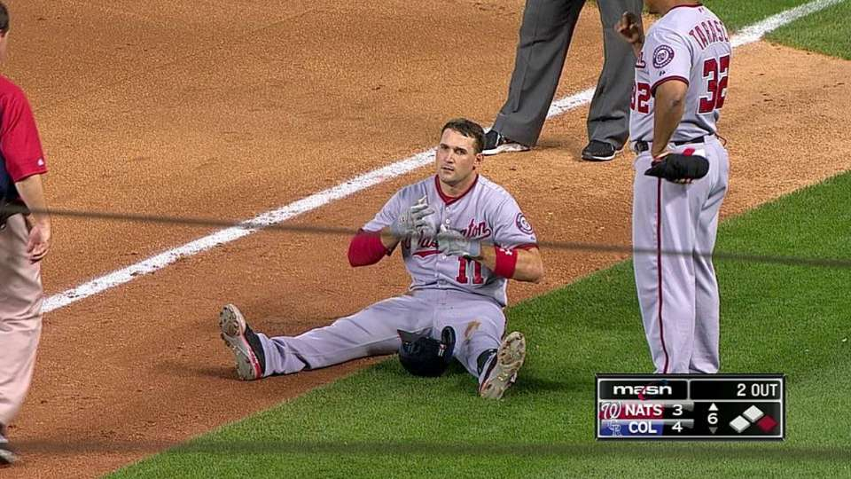 Zimmerman exits after RBI