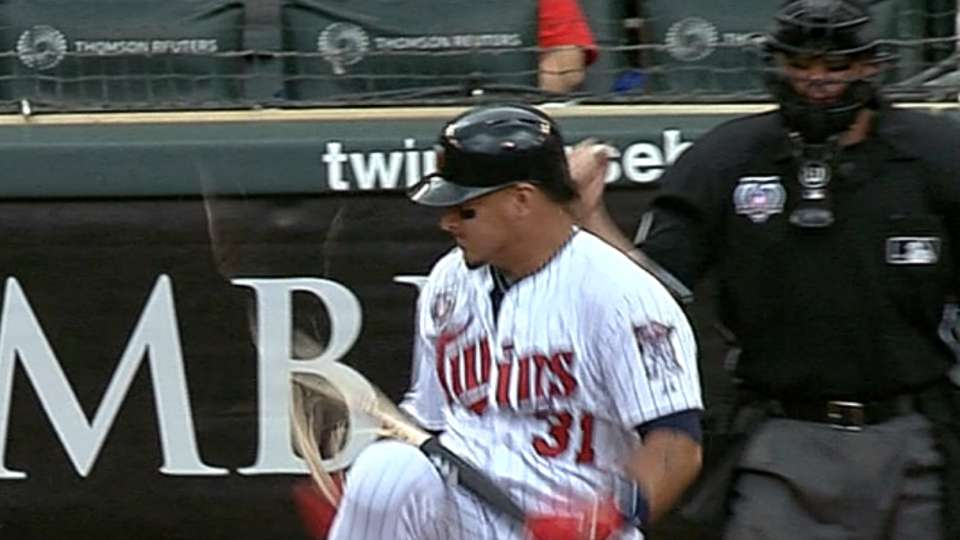 Arcia's impressive bat break