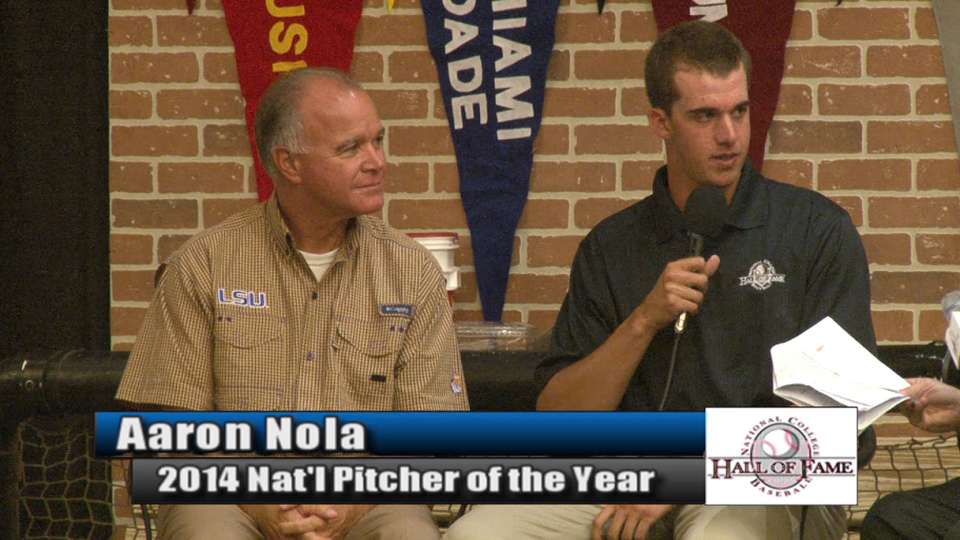 Nola named Pitcher of the Year