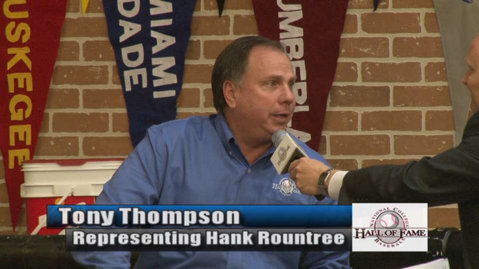 Rountree honored as umpire