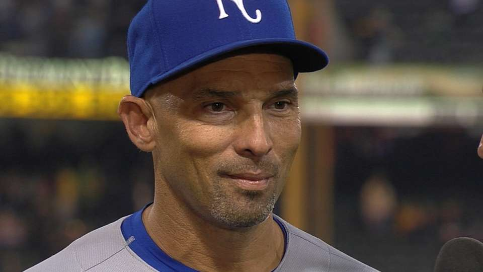 Ibanez on his key home run