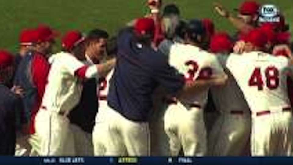 Brantley's walk-off home run