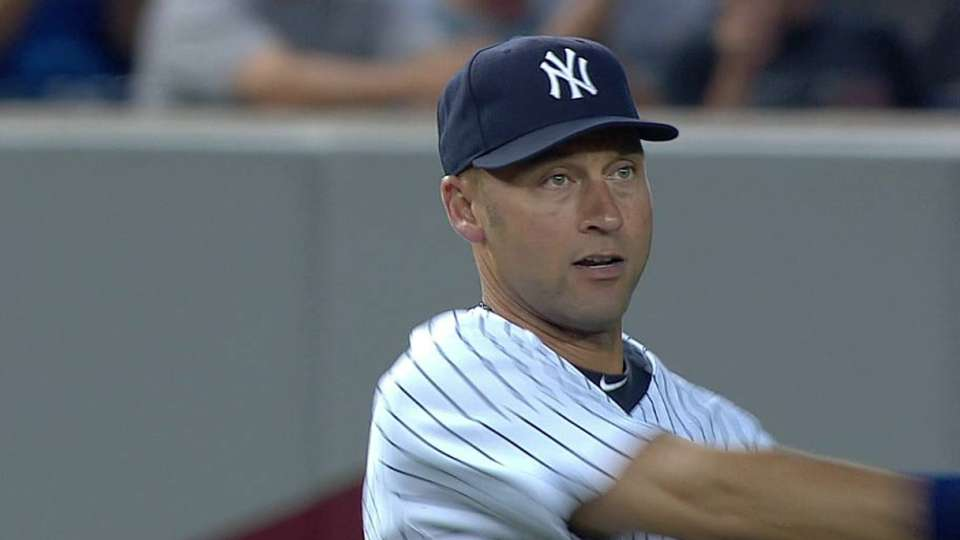 Jeter's leaping grab