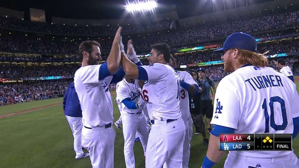 Dodgers get the walk-off win
