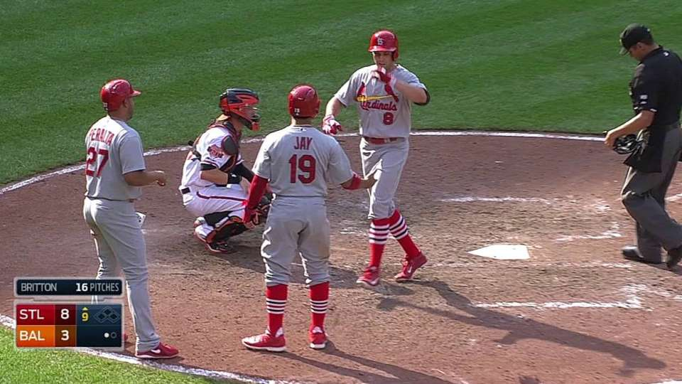 Bourjos' three-run homer