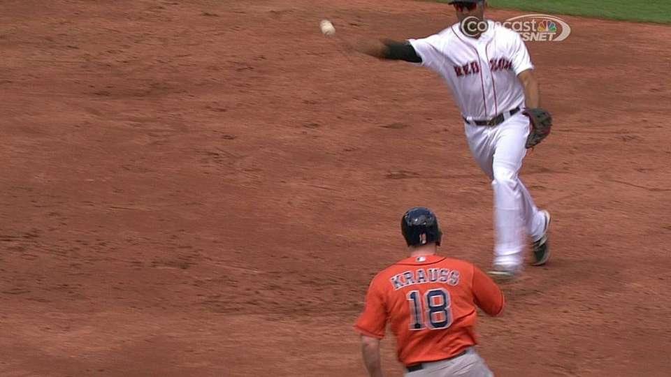 Astros win challenge