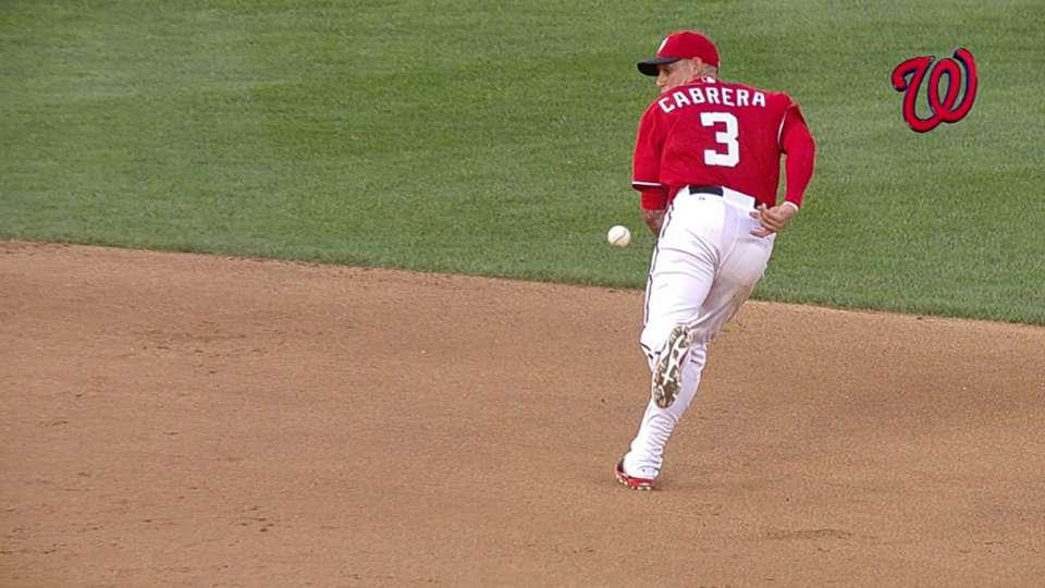 Must C: Cabrera's amazing flip