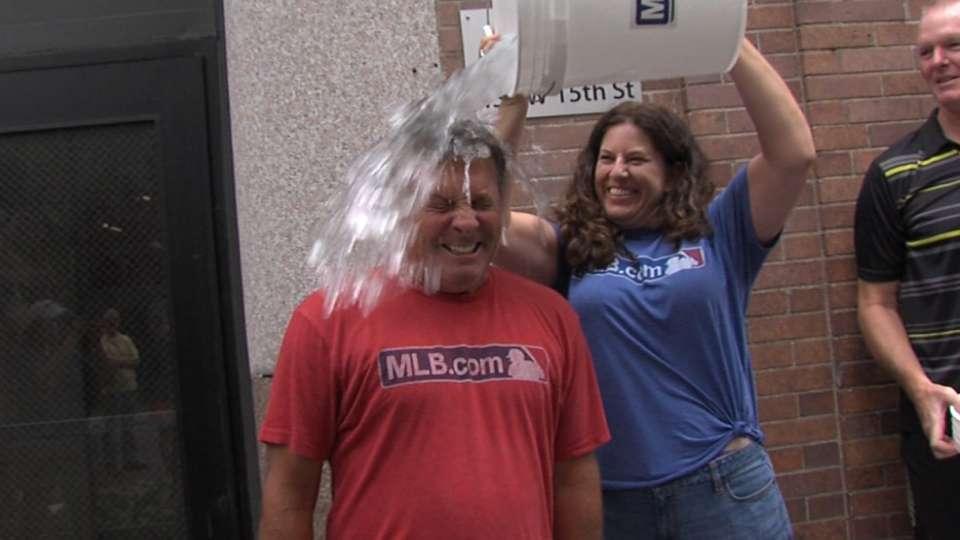 MLB.com's Ice Bucket Challenge
