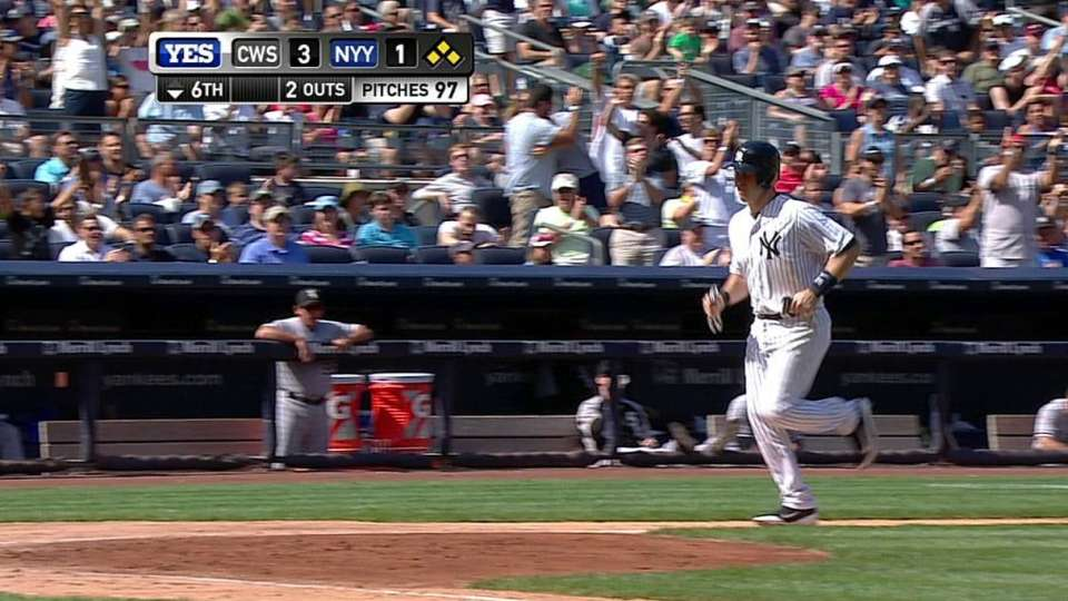 Wheeler's RBI hit-by-pitch