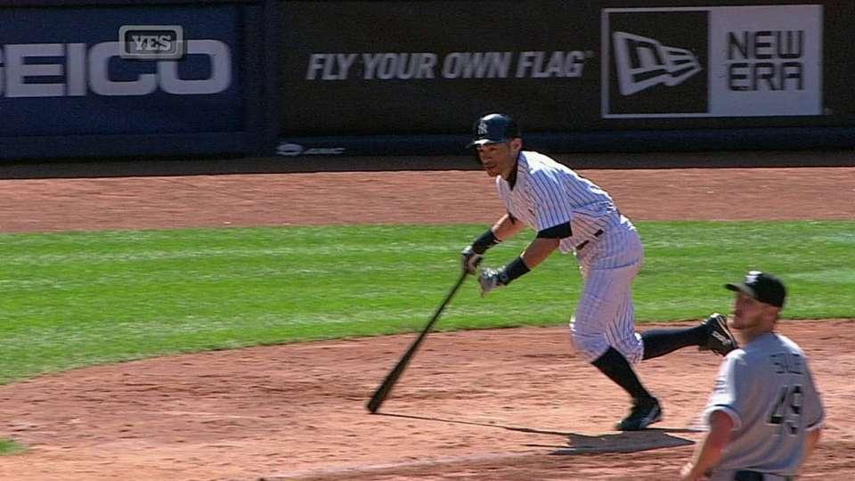 Ichiro's two-run single