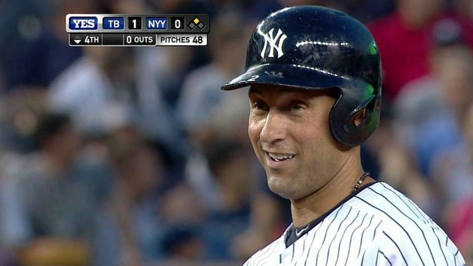 Jeter's double ties record
