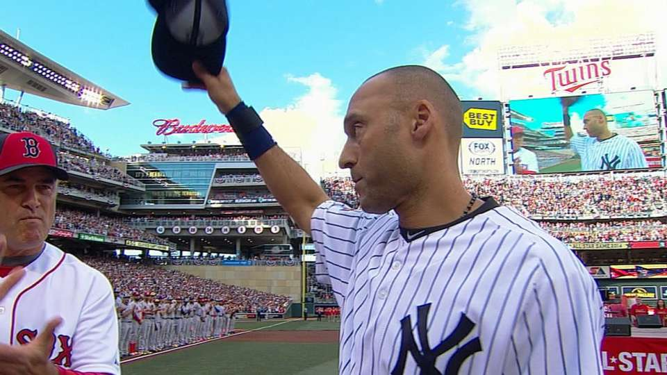 Jeter's last All-Star Game intro