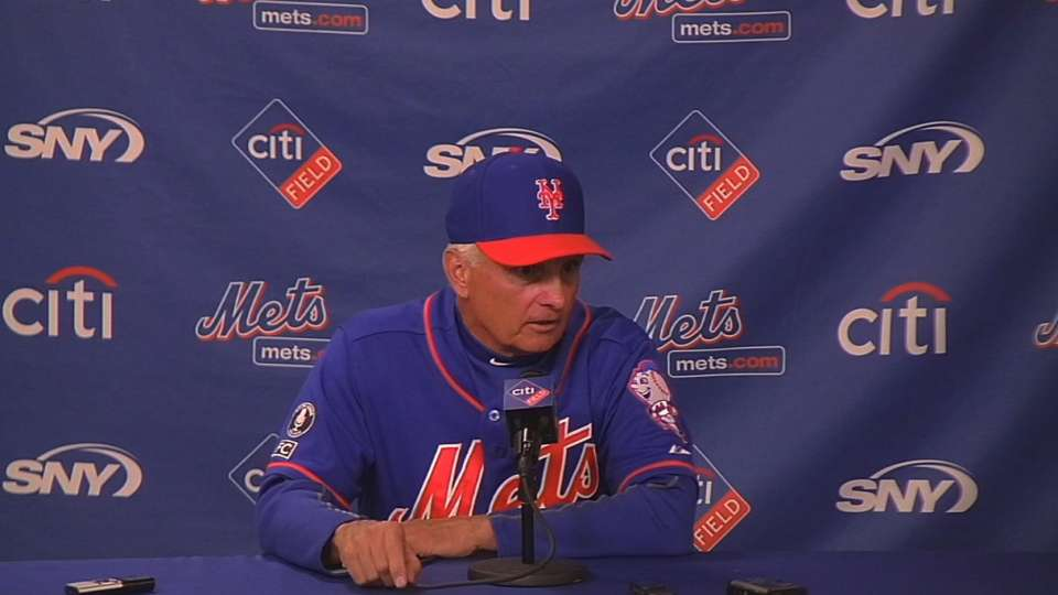 Collins on the Mets' future