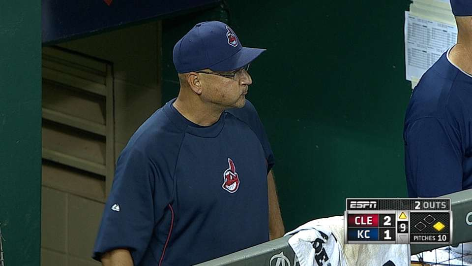 Francona on suspended game