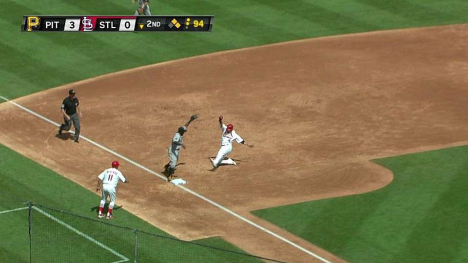 Mercer's nice play in the hole