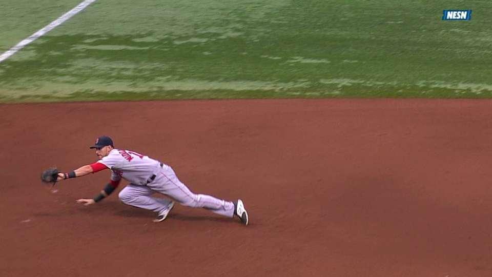 Middlebrooks' nice catch