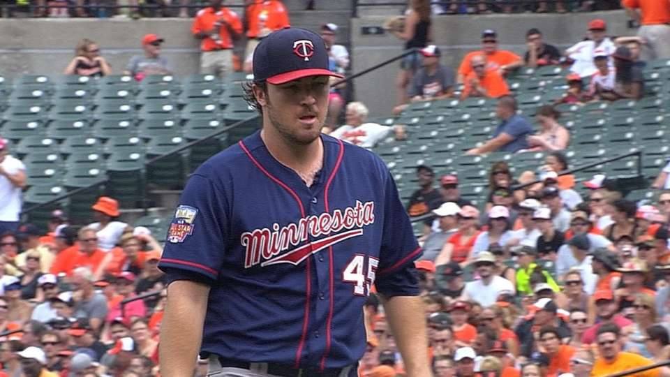 Hughes pitches eight innings