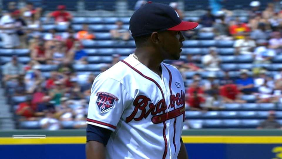 Teheran pitches into 7th inning