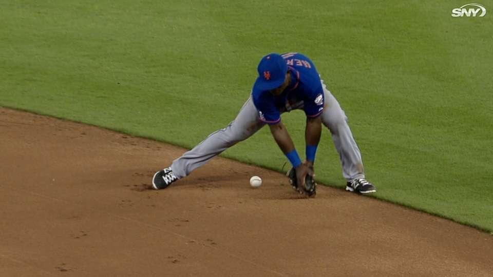 Mets' six-error game