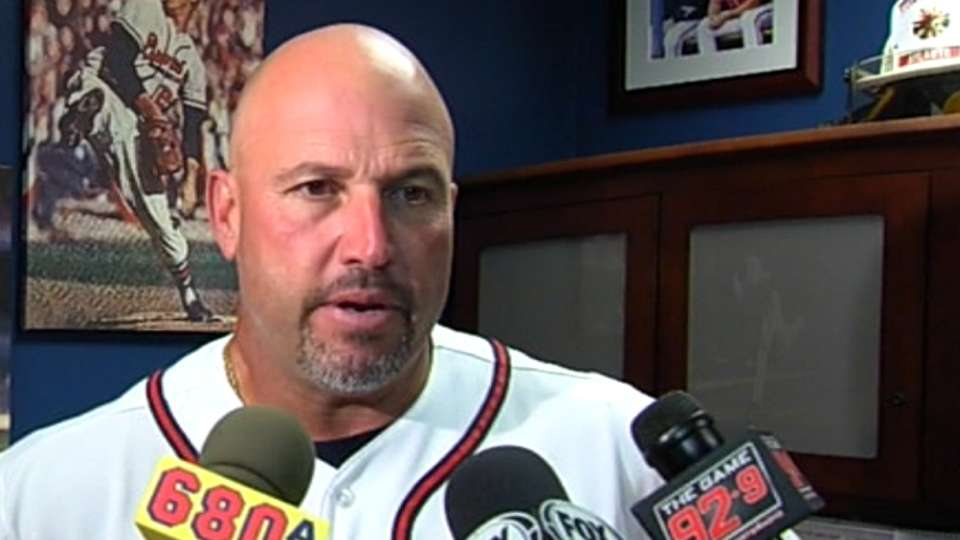 Braves on being no-hit