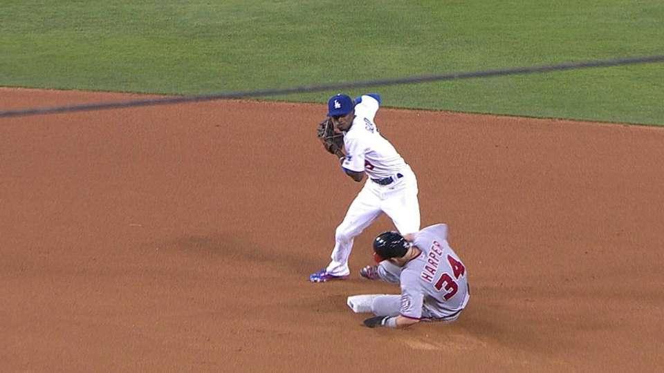 Ramirez's fine double play