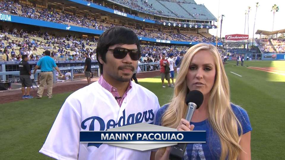 Manny Pacquiao talks boxing