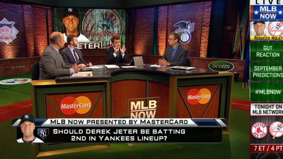 MLB Now on Jeter's lineup spot
