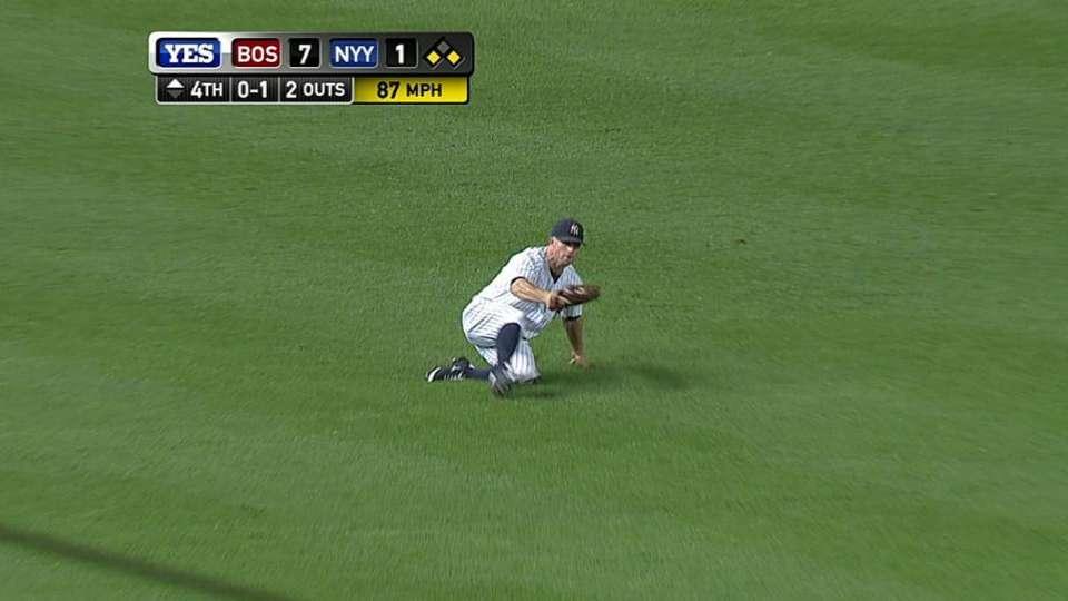 Gardner's sliding catch
