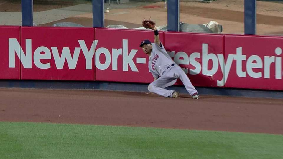 Betts' leaping catch