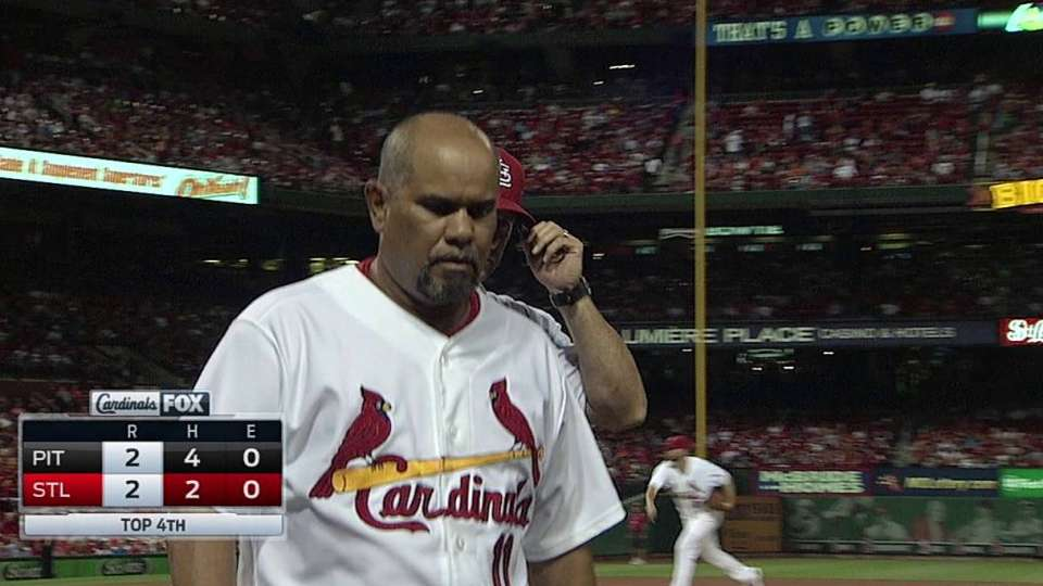 Cards third-base coach ejected