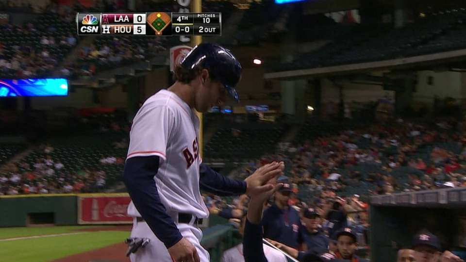 Grossman's two-out RBI double