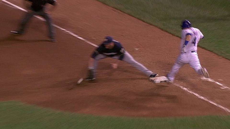 Safe call overturned in 4th