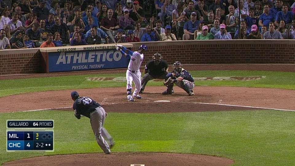 Gallardo's strikeout ties Sheets