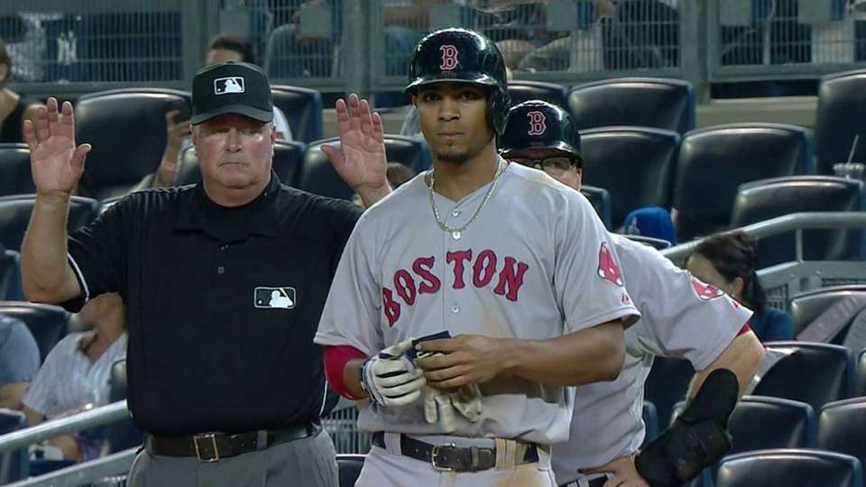 Bogaerts' RBI single