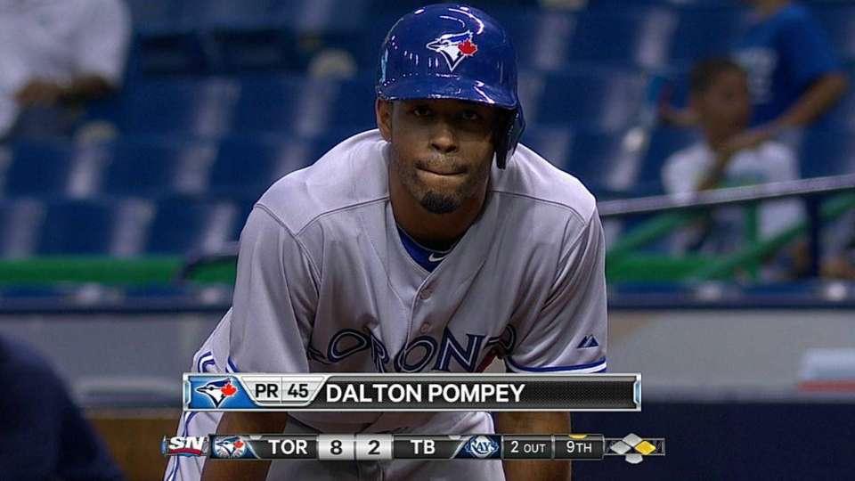 Pompey's MLB debut