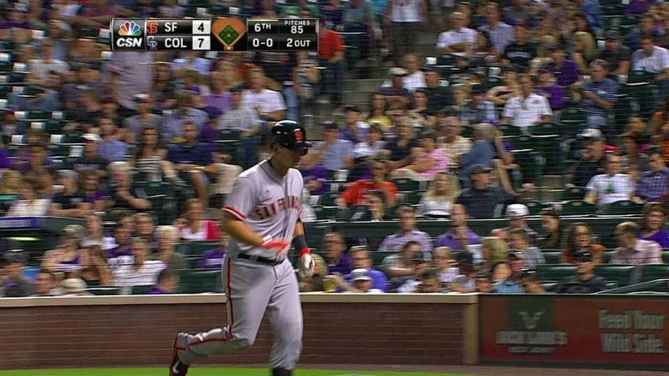 Susac's two-run homer